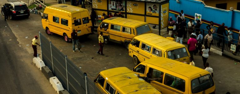 Image of buses at bus depot